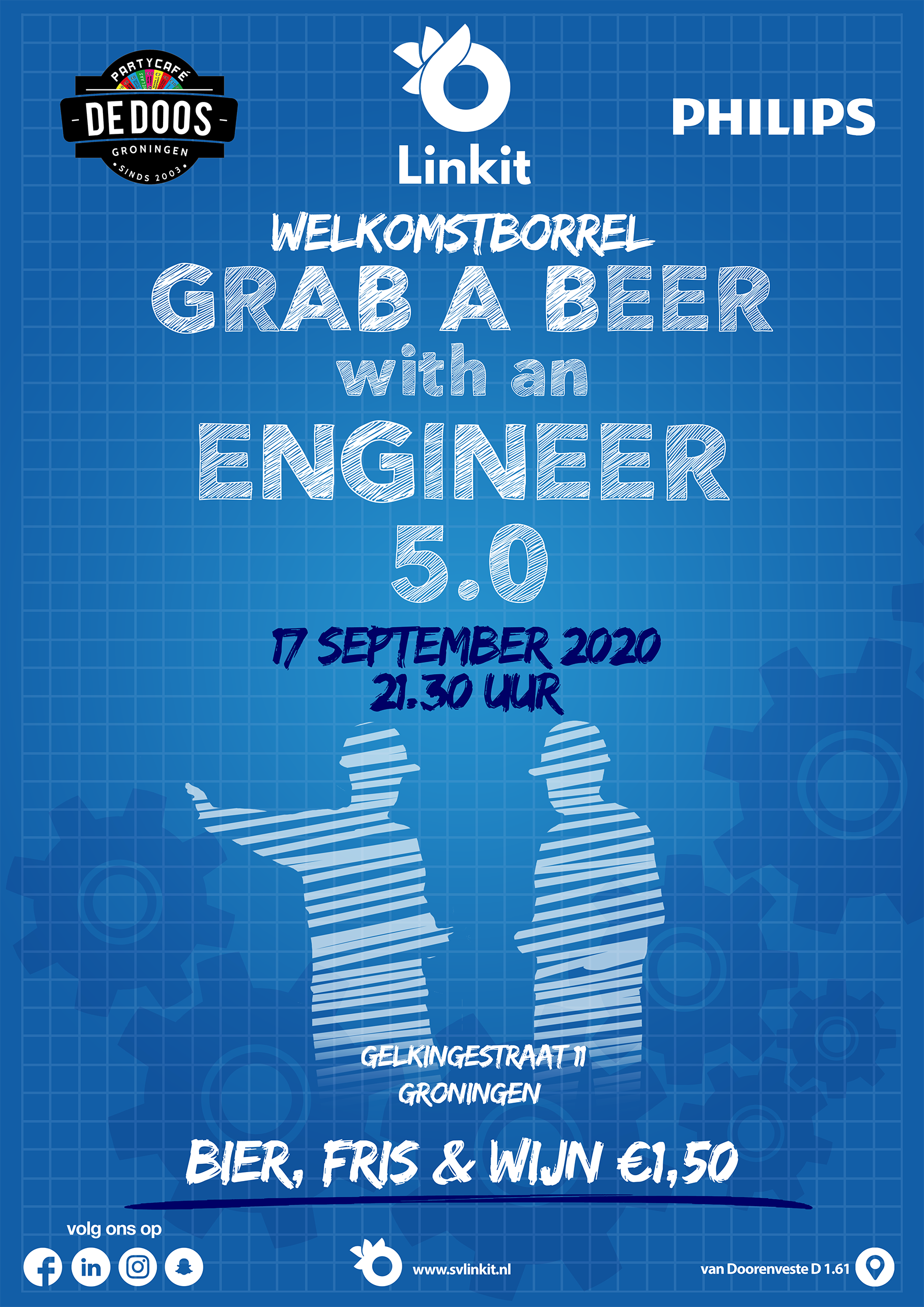 Poster Grab a beer with an Engineer 5.0