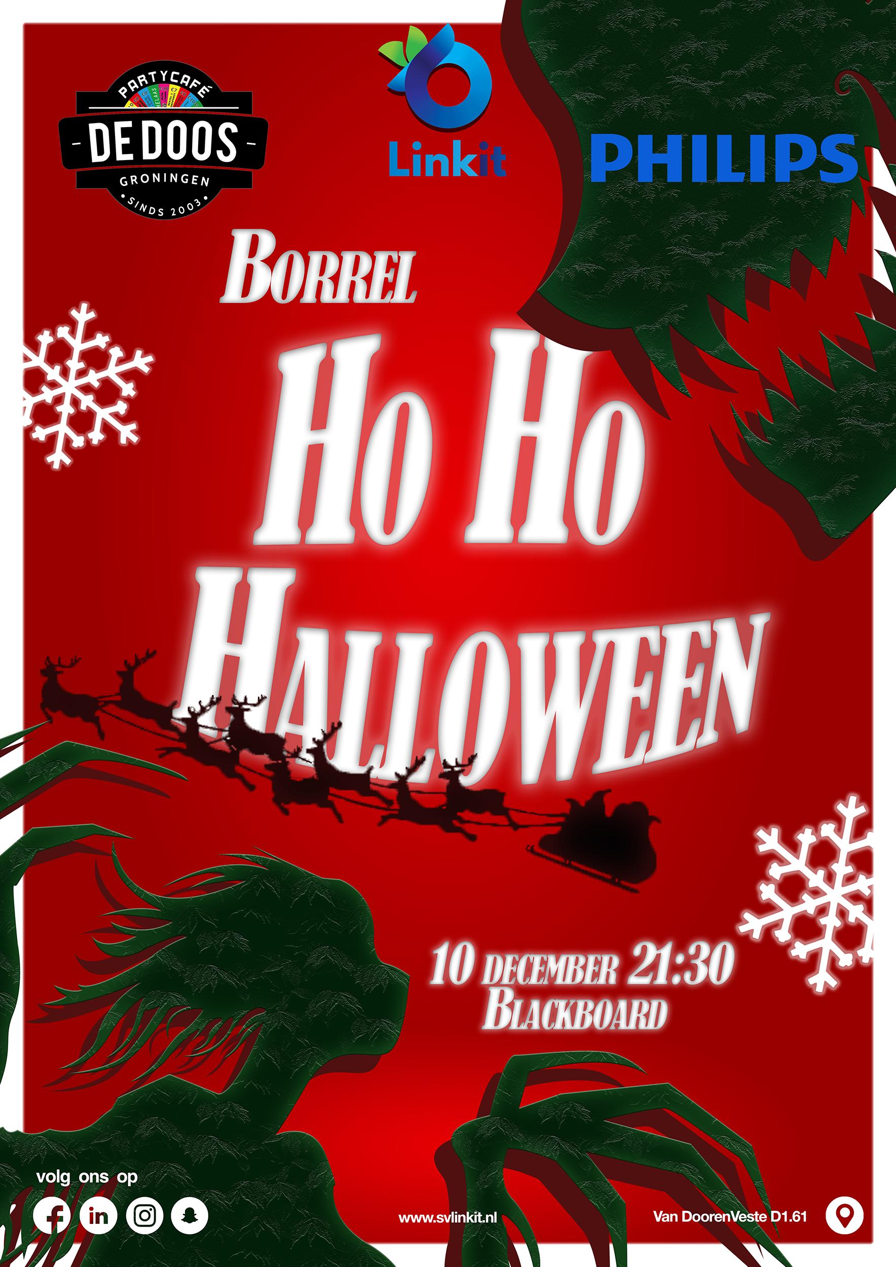 Poster Ho Ho Halloween